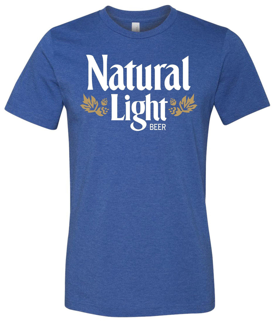 Natural Light Vintage Logo Tee