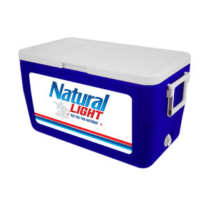 Natural Light Personalized 48 qt Cooler
