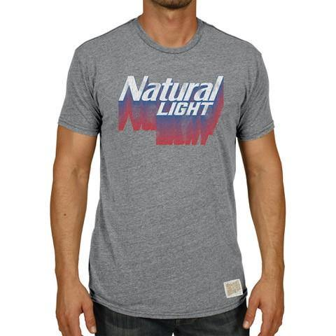 Natural Light Retro Label Tee