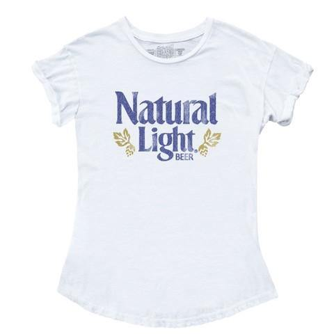 Natural Light Ladies Retro Logo Tee