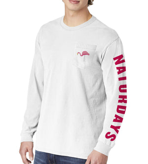 Naturdays Long Sleeve Pocket Tee