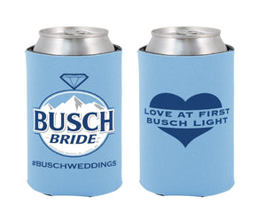 Married to Busch Bride Coolie