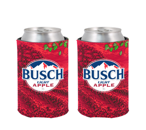 Busch Light Apple Can Coolie