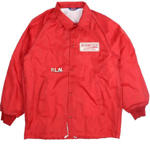 Budweiser P.L.N. Racing Coaches Jacket