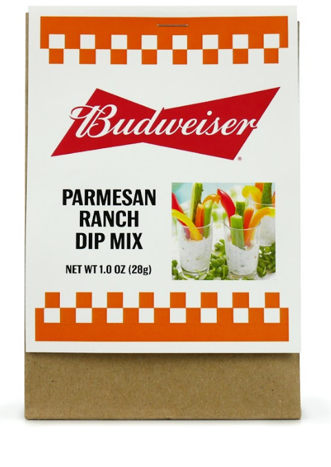 Budweiser Parmesan Ranch Dip Mix