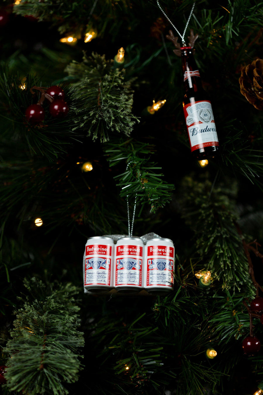 Budweiser 6PK Cans Ornament