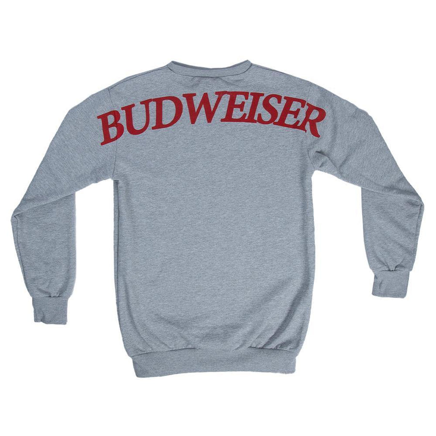 Budweiser KOB Back Print Crew Fleece