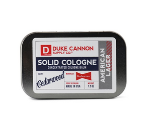 Budweiser Solid Cologne Balm