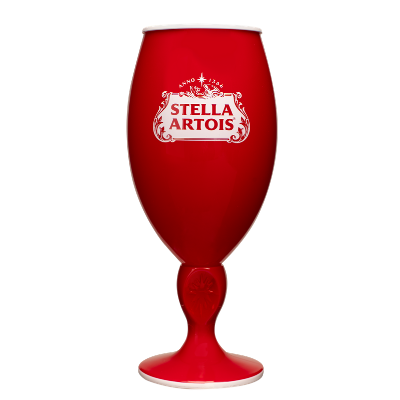 Stella Artois Red Summer Chalice