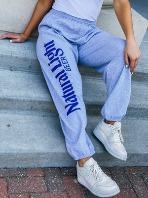Natural Light Vintage Logo Pants