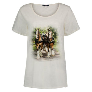 Clydesdale Ladies Scoop Neck Tee