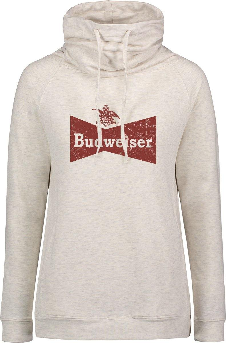 Budweiser Ladies Faux Cashmere Funnel Neck Fleece