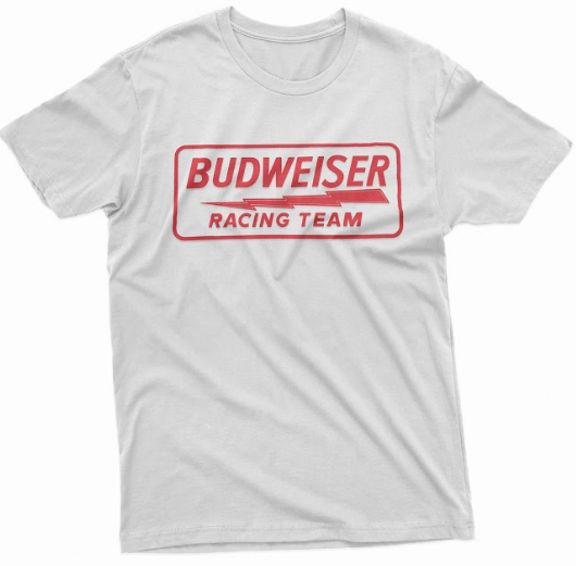 Budweiser Racing Tee - White