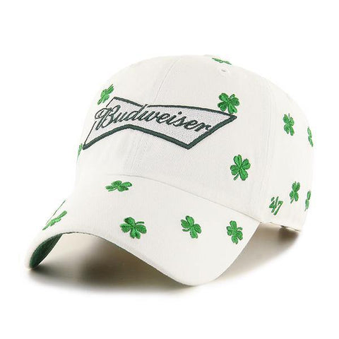 Budweiser '47 Brand Confetti Clover Clean Up Hat