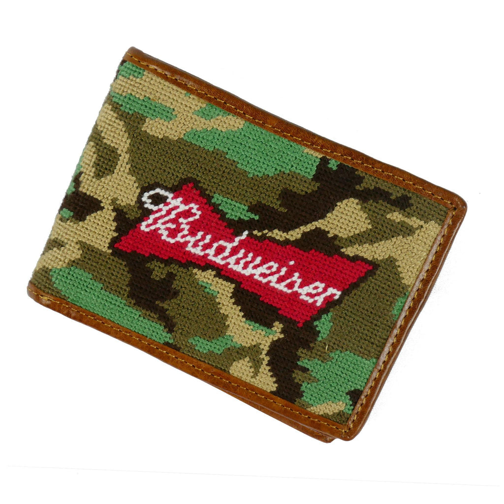 Smathers and Branson Camo Budweiser Bi-Fold Wallet