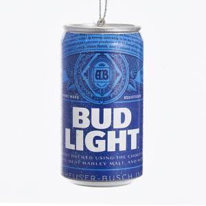 Bud Light Can Ornament