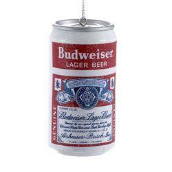 Budweiser Vintage Can Ornament