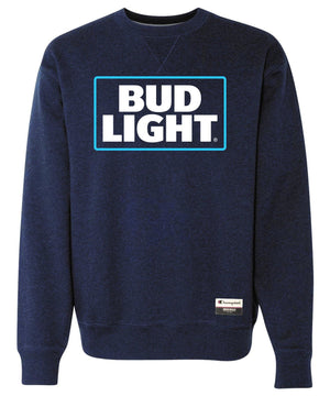 Bud Light Champion® Brand Suede Fleece Crew