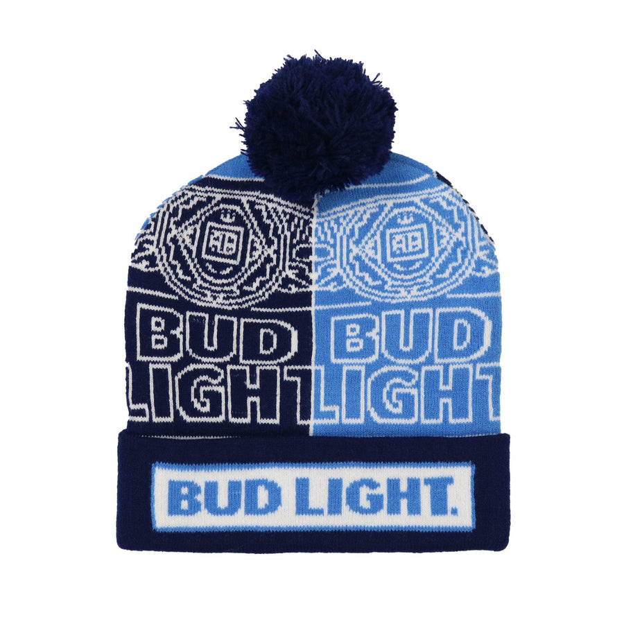 Bud Light Can Sweater Beanie