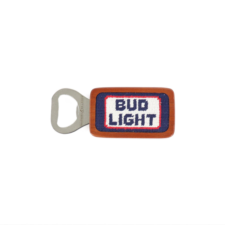 Smathers & Branson Bud Light Retro Logo Bottle Opener