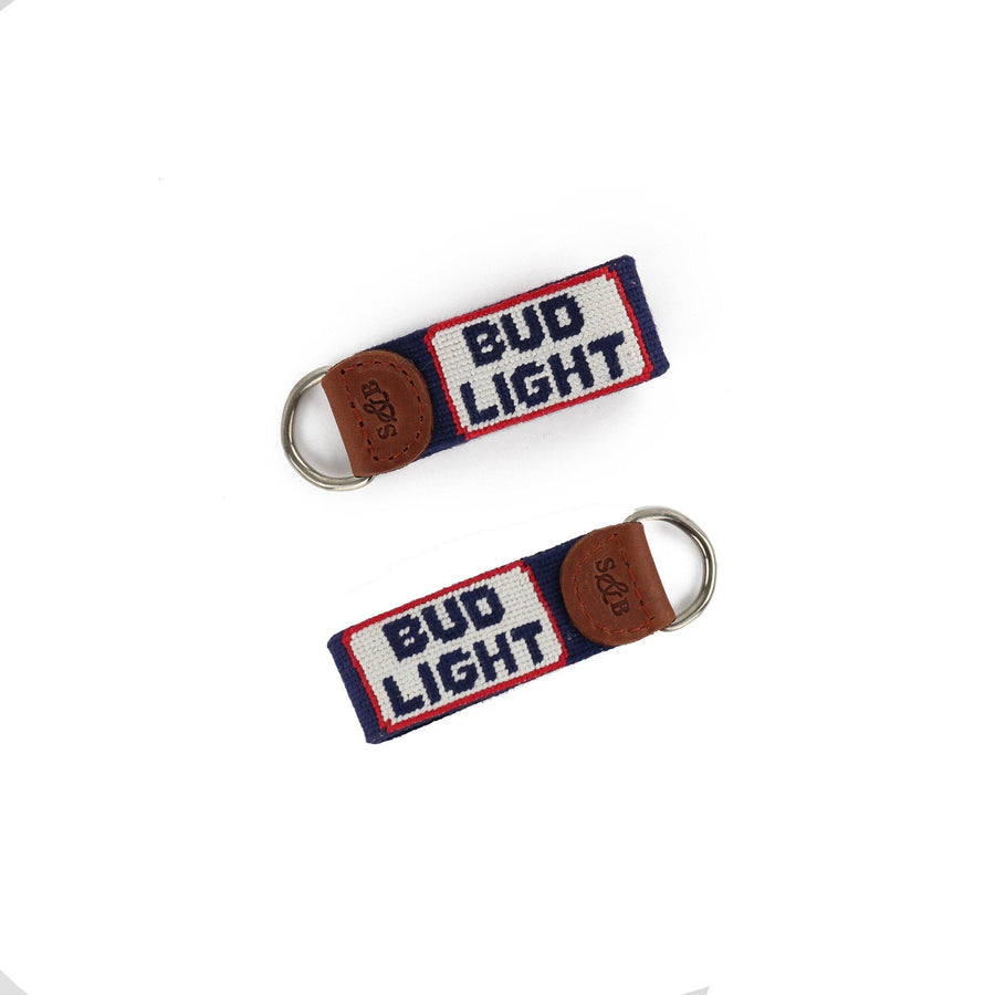 Smathers & Branson Bud Light Retro Logo Key Fob