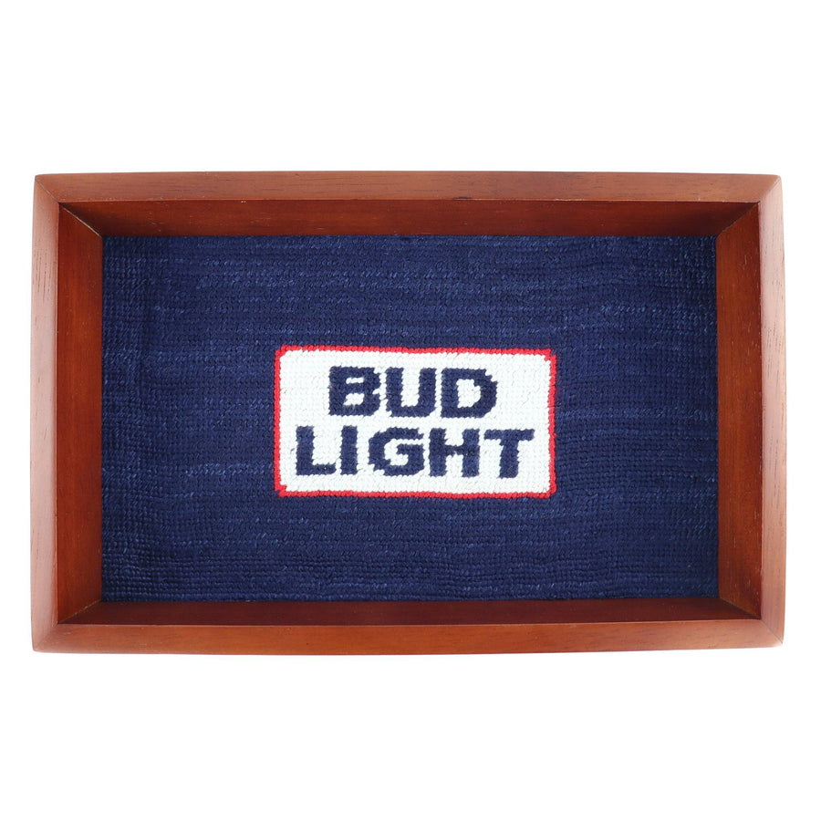 Smathers & Branson Bud Light Retro Logo Valet Tray