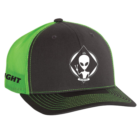 BUD LIGHT ALIEN GLOW TRUCKER HAT
