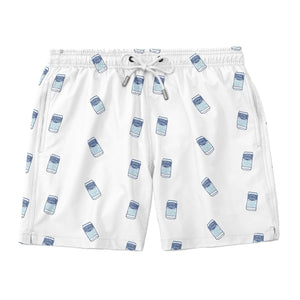 Bud Light Scatter Can Swim Trunks