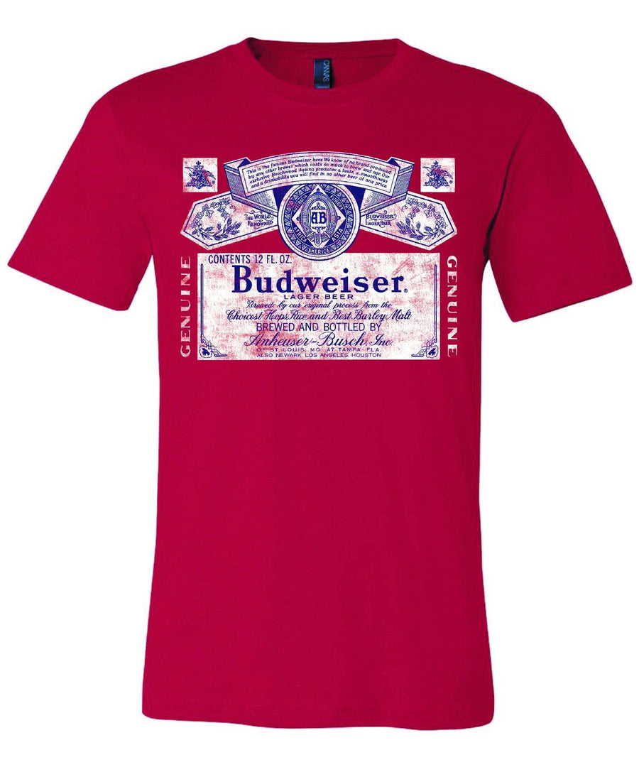 Budweiser Color Label Tee