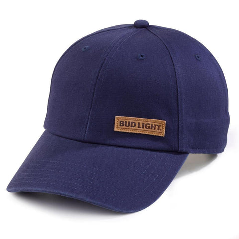 Bud Light Leather Patch Hat