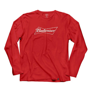 Budweiser '47 Brand Knockout Long Sleeve Tee