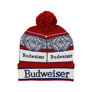 Budweiser Can Sweater Beanie
