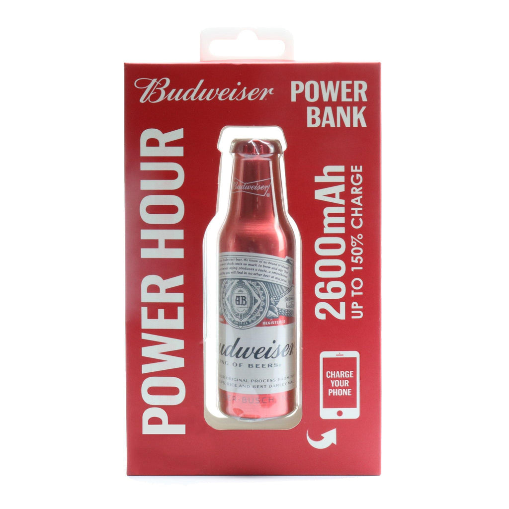 Budweiser Metal Power Bank