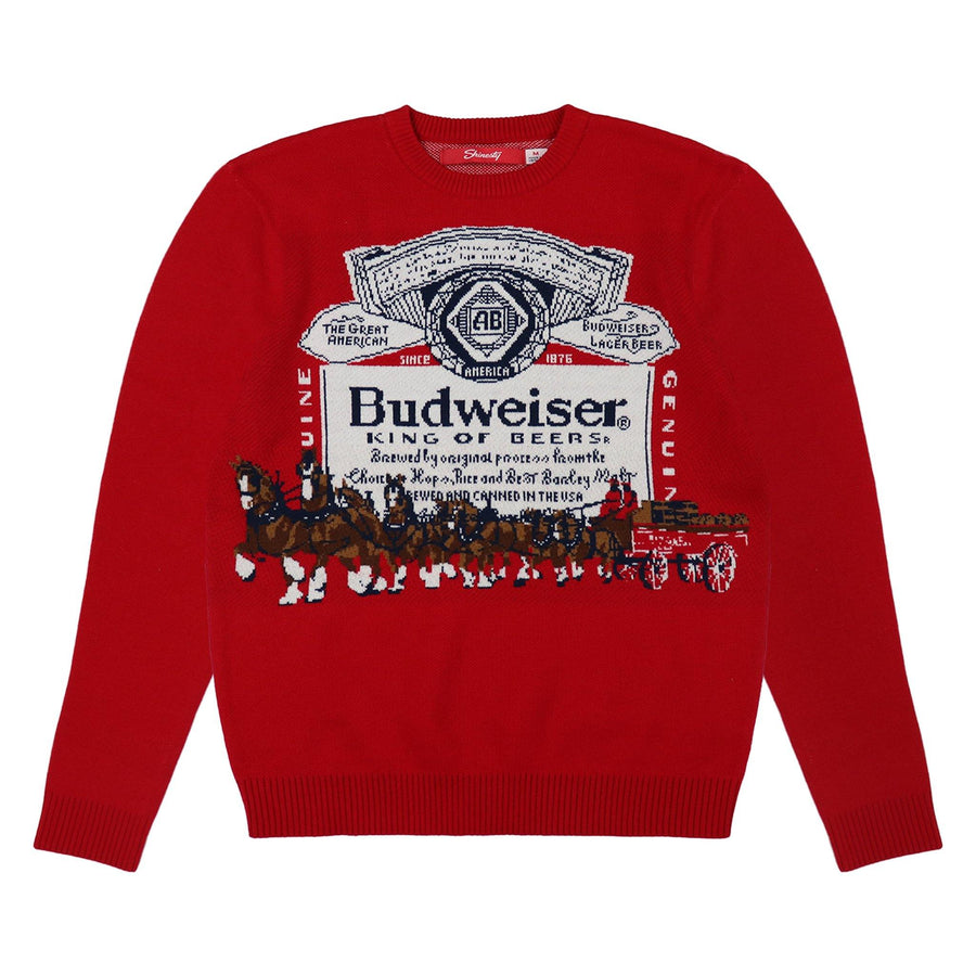 Budweiser Label Hitch Sweater