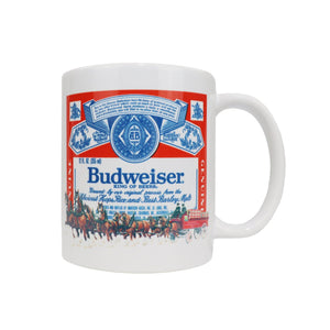 Budweiser Clyde Label Mug