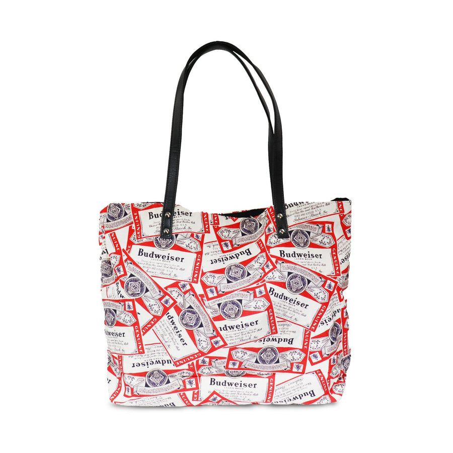 Budweiser Scatter Print Tote Bag