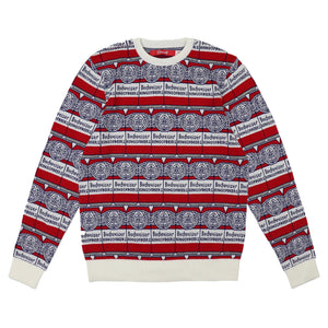 Budweiser Can Repeat Sweater