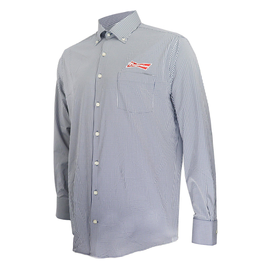 Budweiser Peter Millar® Mimi Performance Long Sleeve Button Front