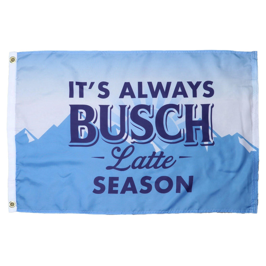 Busch Latte Flag