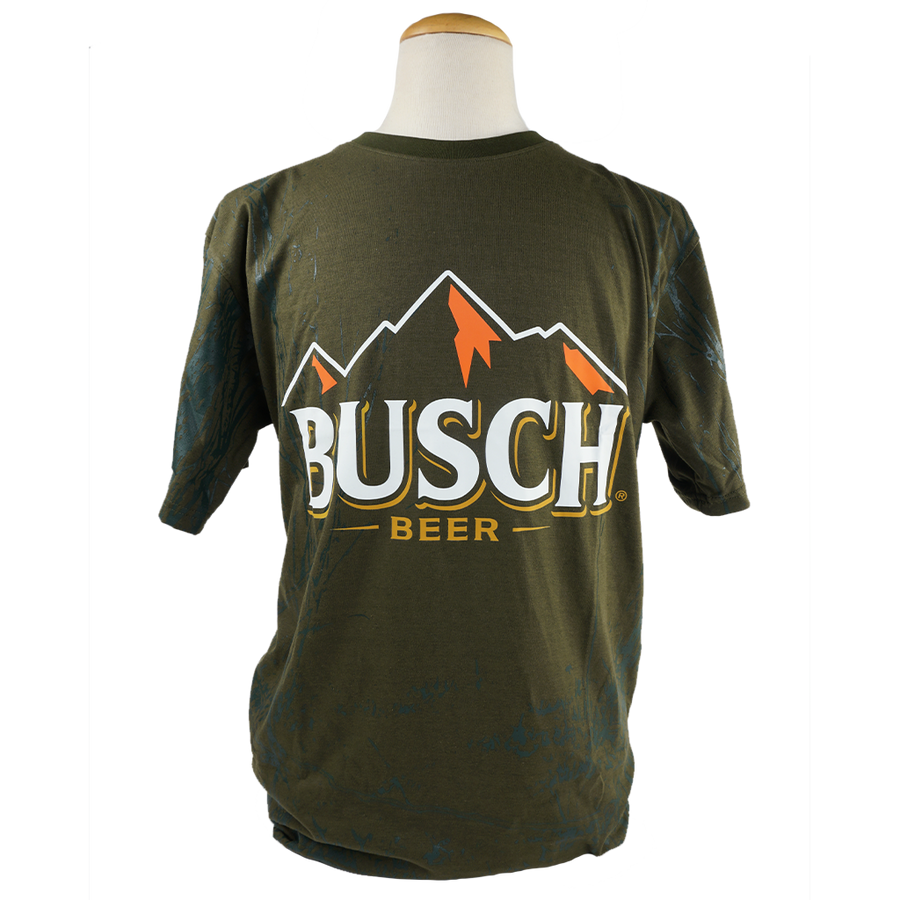 Busch Mountain Camo Tee