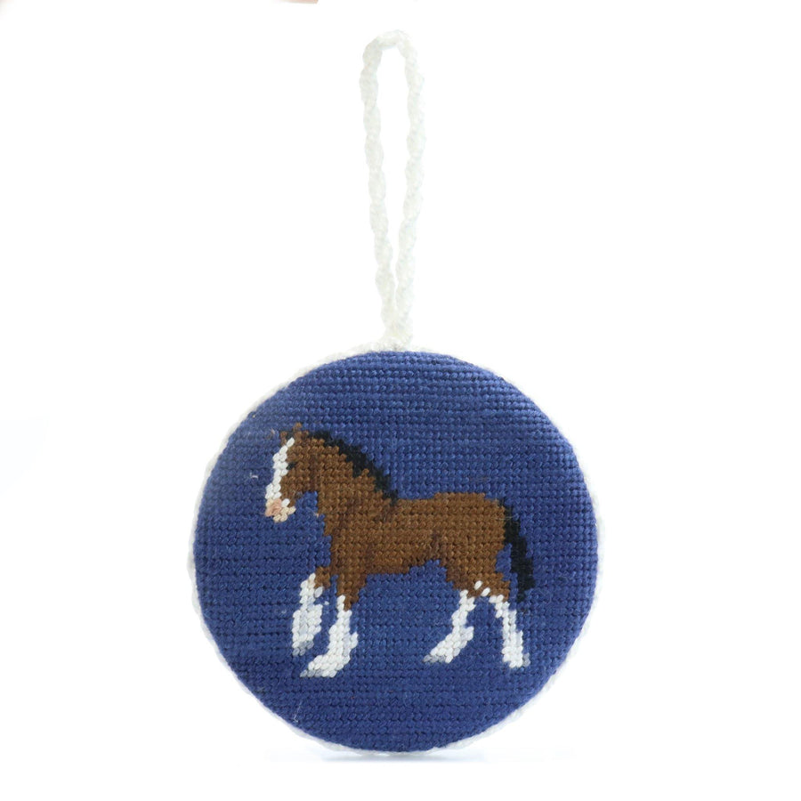 Smathers & Branson Clydesdale Stitch Ornament