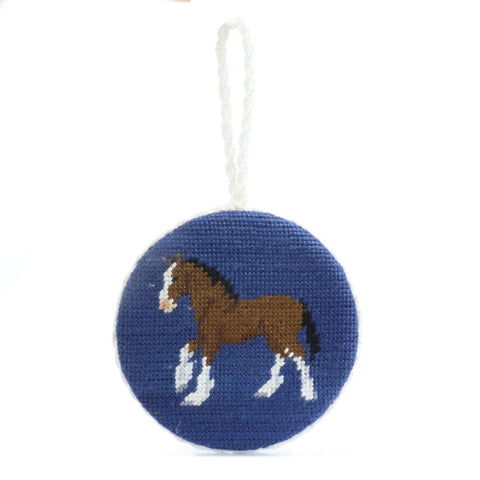 Smathers and Branson Clydesdale Stitch Ornament