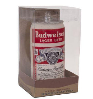 Budweiser Vintage Glass Can Ornament
