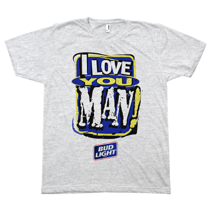 "Bud Light Legends ""I Love You Man!"" Champion Tee"