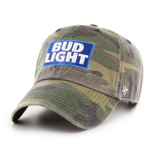 Bud Light '47 Brand Camo Clean Up Hat