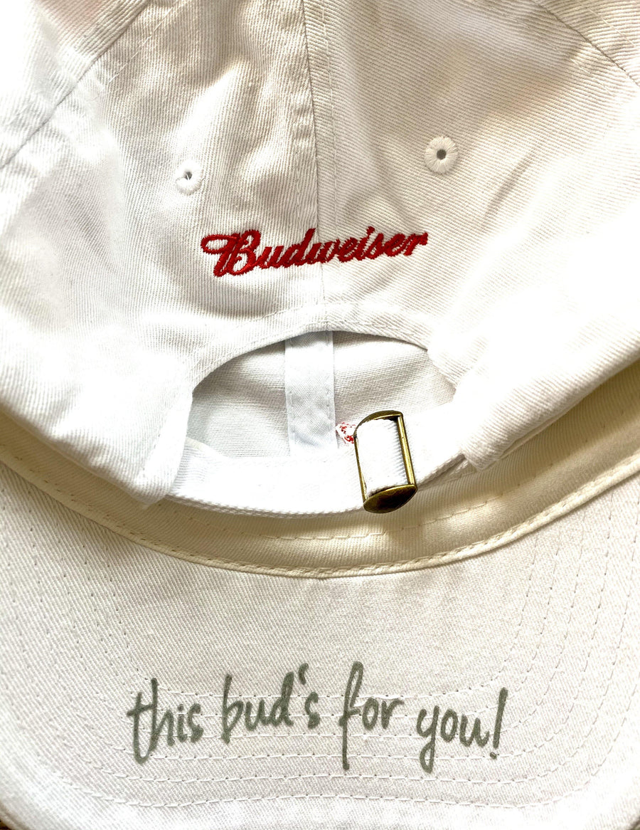 Budweiser This Buds for You Under Visor Hat