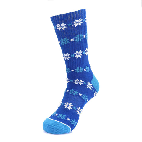 Bud Light Snow Flake Socks