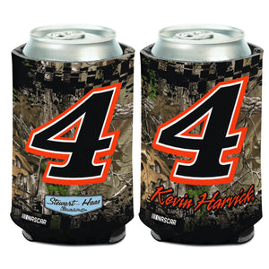 Camo design with Kevin Harvick #4.  Official product of Stewart-Hass Racing