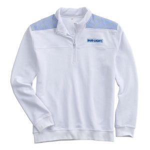 Bud Light Ladies 1/4 Zip Pullover