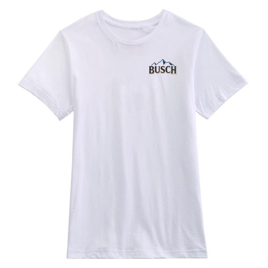Busch Men's White Vintage T-Shirt - Front